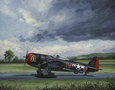 Thunderbolt Painting - Lorene by Wade Meyers