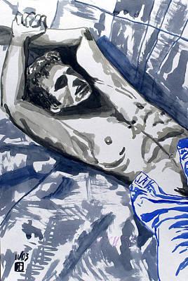 Painting - Lorenzo by Sylvie Proidl