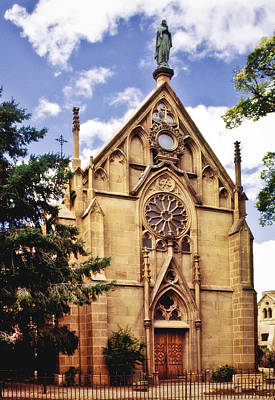 Photograph - Loretto Chapel by David and Carol Kelly