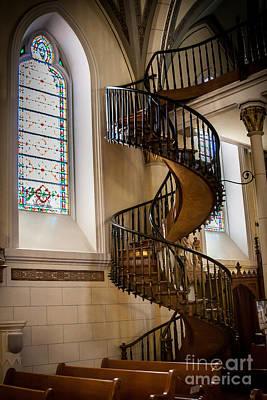 Loretto Chapel Staircase Art Print