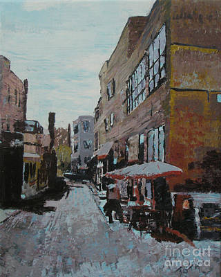 Painting - Loring Corners by Laura Toth