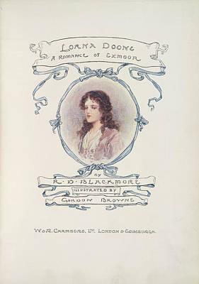 Exmoor Photograph - Lorna Doone by British Library