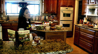 Photograph - Lorna Kitchen Busy3 2009 by Glenn Bautista