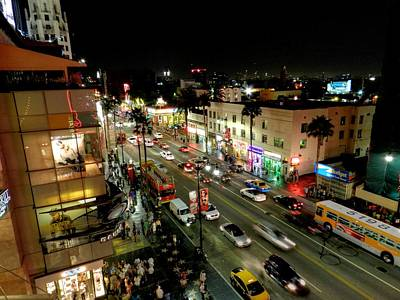 Hollywood Photograph - Los Angeles 012 by Lance Vaughn