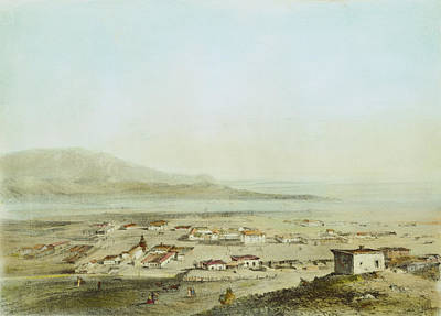 Destiny Painting - Los Angeles, 1853 by Granger