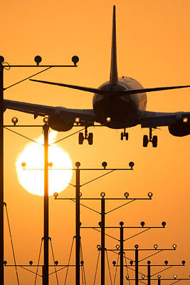Photograph - Los Angeles Airport by Celso Diniz