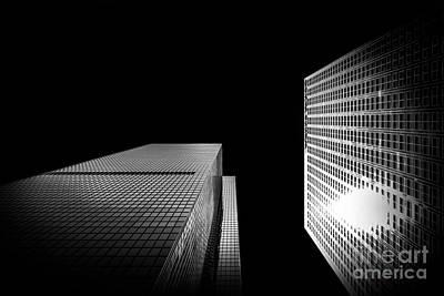 B Photograph - 2 Towers by Az Jackson