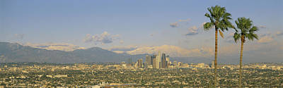 Mount Baldy Photograph - Los Angeles Ca by Panoramic Images