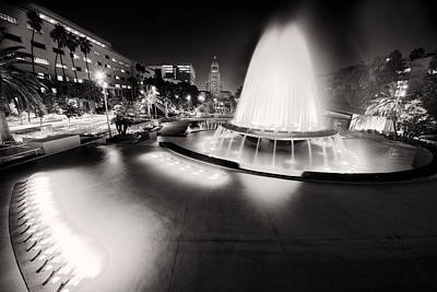 Photograph - Los Angeles City Hall As Seen From The Grand Park by Celso Diniz