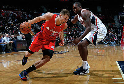 Photograph - Los Angeles Clippers V Atlanta Hawks by Kevin C. Cox