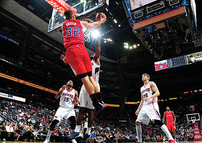 Photograph - Los Angeles Clippers V Atlanta Hawks by Scott Cunningham