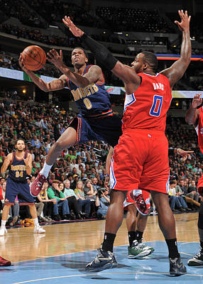 Photograph - Los Angeles Clippers V Denver Nuggets by Bart Young