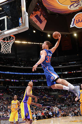 Photograph - Los Angeles Clippers V Los Angeles by Andrew D. Bernstein