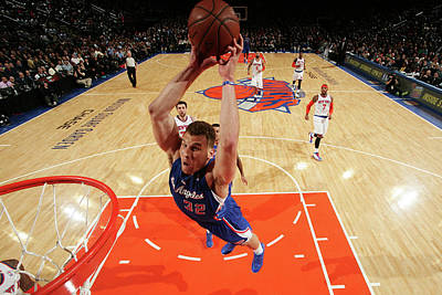 Photograph - Los Angeles Clippers V New York Knicks by Nathaniel S. Butler