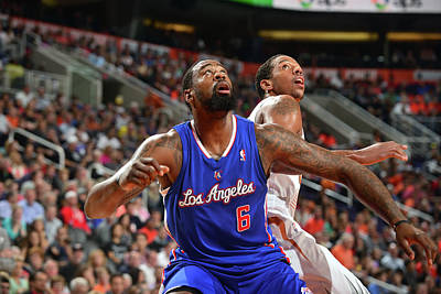 Photograph - Los Angeles Clippers V Phoenix Suns by Barry Gossage