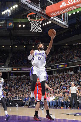Photograph - Los Angeles Clippers V Sacramento Kings by Rocky Widner