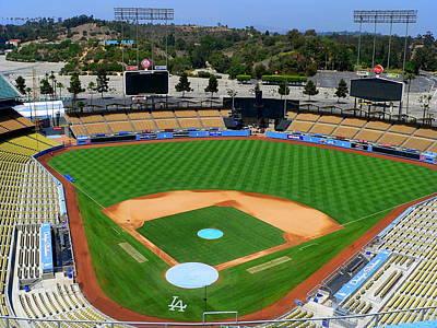 Los Angeles Dodgers Art Print by Jeff Lowe