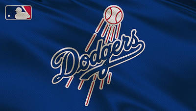 Los Angeles Dodgers Uniform Art Print by Joe Hamilton