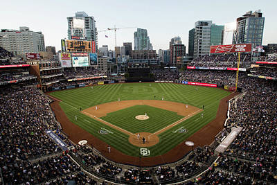 Photograph - Los Angeles Dodgers V. San Diego Padres by Rob Leiter