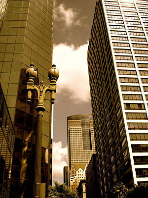 Photograph - Los Angeles Downtown by Monique's Fine Art