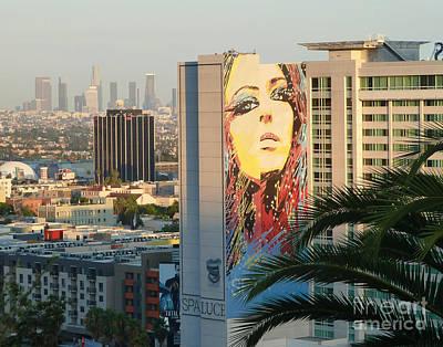 Los Angeles Golden Hour Art Print