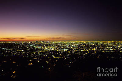 Photograph - Los Angeles by Jim Corwin