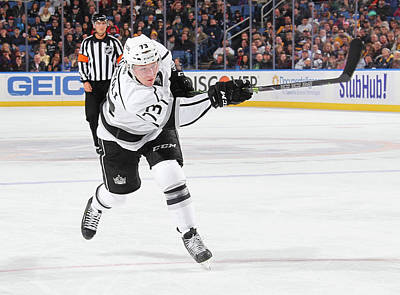 Photograph - Los Angeles Kings V Buffalo Sabres by Bill Wippert