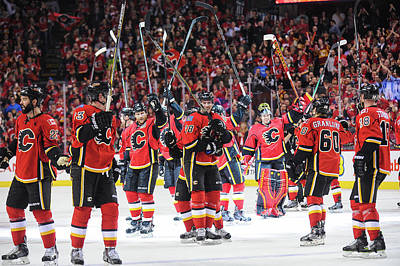 Los Angeles Kings Photograph - Los Angeles Kings V Calgary Flames by Derek Leung
