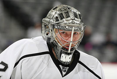 Los Angeles Kings Photograph - Los Angeles Kings V Colorado Avalanche by Michael Martin