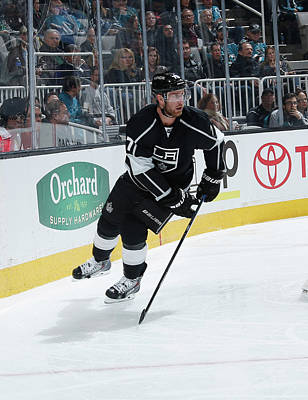 Los Angeles Kings Photograph - Los Angeles Kings V San Jose Sharks by Don Smith