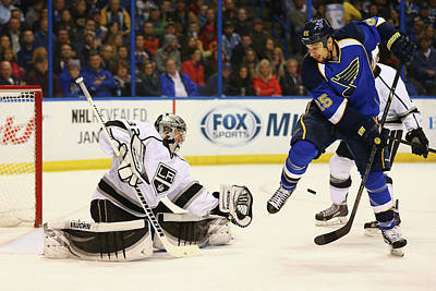 Los Angeles Kings Photograph - Los Angeles Kings V St. Louis Blues by Dilip Vishwanat