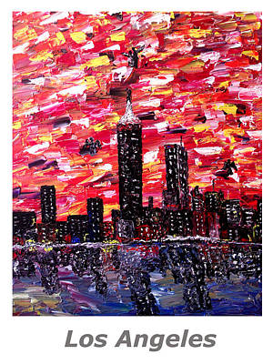 Boston Painting - Los Angeles  by Mark Moore