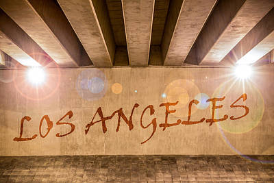 Photograph - Los Angeles by Semmick Photo