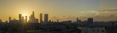 Los Angeles Sunset Original by James Thompson