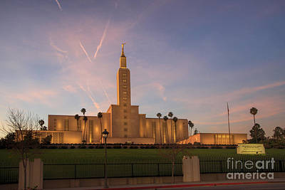 Los Angeles Temple Art Print