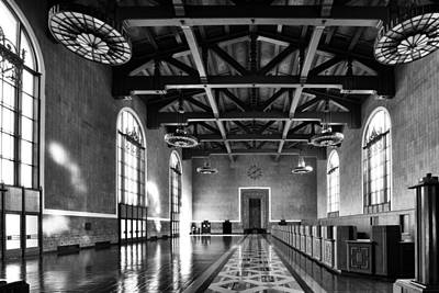 Photograph - Los Angeles Union Station by Celso Diniz