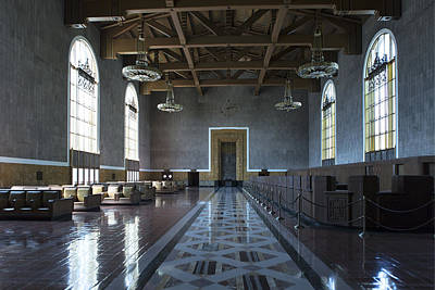 Los Angeles Union Station - Custom Art Print