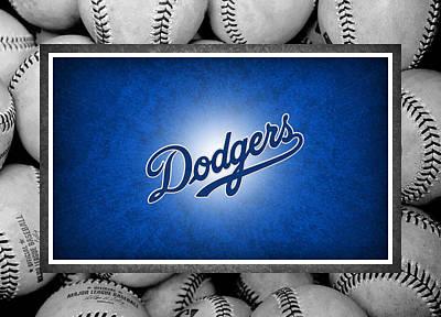 Dodger Stadium Photograph - Los Angles Dodgers by Joe Hamilton