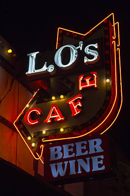 Photograph - L.o's Cafe by Gigi Ebert
