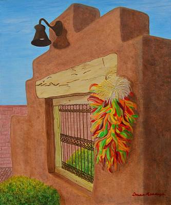 Painting - Los Chiles by Donna  Manaraze