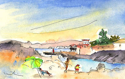 Painting - Los Cristianos 03 by Miki De Goodaboom