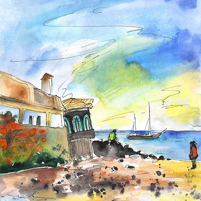 Painting - Los Cristianos 04 by Miki De Goodaboom