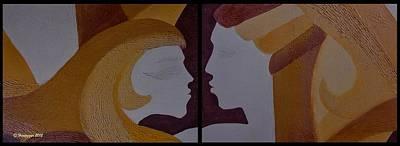 Painting - Los Dos Juntos by Hemu Aggarwal