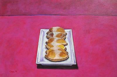 Painting - Las Empanadas by Manny Chapa