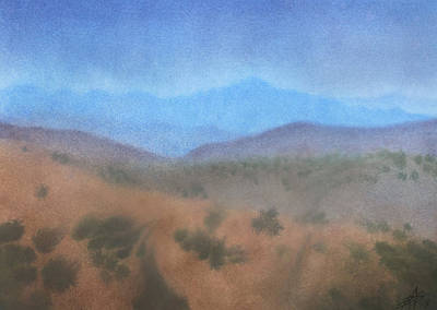 Painting - Los Penasquitos Canyon I by Robin Street-Morris