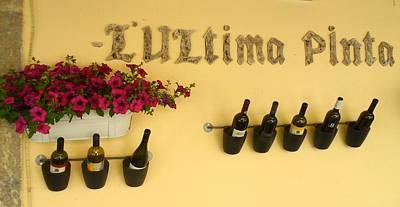 Tasting Mixed Media - Los Vinos by William Lanza