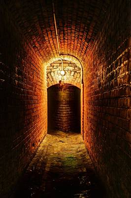 Lights In Tunnel Photograph - Lose Yourself In Pensacola by JC Findley