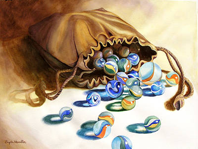 Painting - Losing My Marbles by Daydre Hamilton