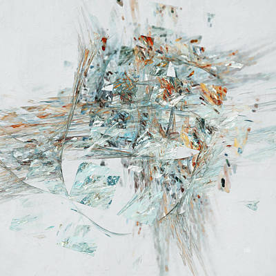 Digital Art - Losing My Reality by Menega Sabidussi