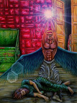 Depression Mixed Media - Loss Of Innocence by Michael Schneider